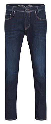 MAC Herren Straight Jeans Macflexx blau (rinsed wash H736)