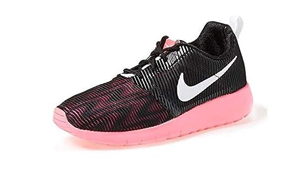 outlet store 103b5 42556 Nike Roshe One Flight Weight Girls Youh Big Kids Casual Shoes  BlackWhiteHyper Pink705486-002 (6.5Y) Amazon.de Schuhe  Handtaschen