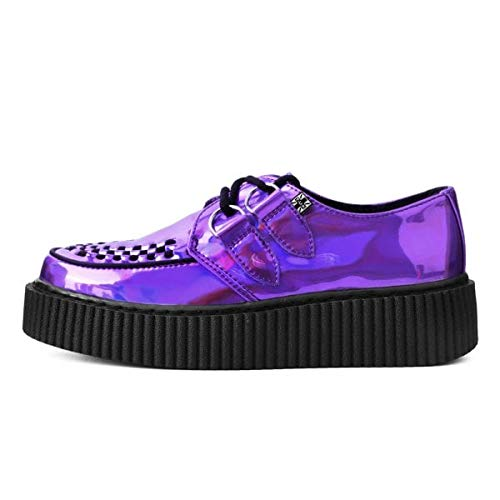 T.U.K. Shoes Herren-Frauen-Lavendel-Kasskneifen EU38 / UKW5