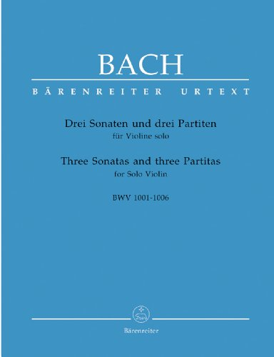 Bach  Three Sonatas and Three Partitas - 9790006464890