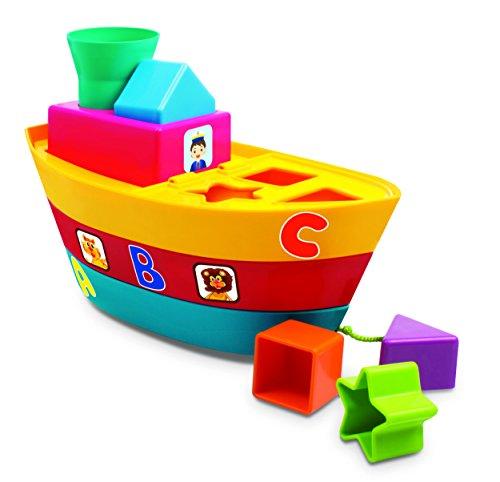 Giggles Stack a Boat, Multi Color
