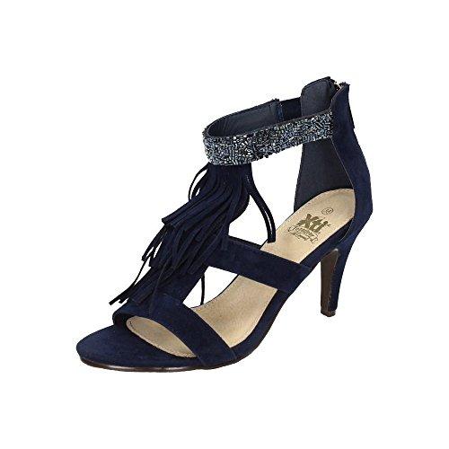 XTI , sandales femme Bleu
