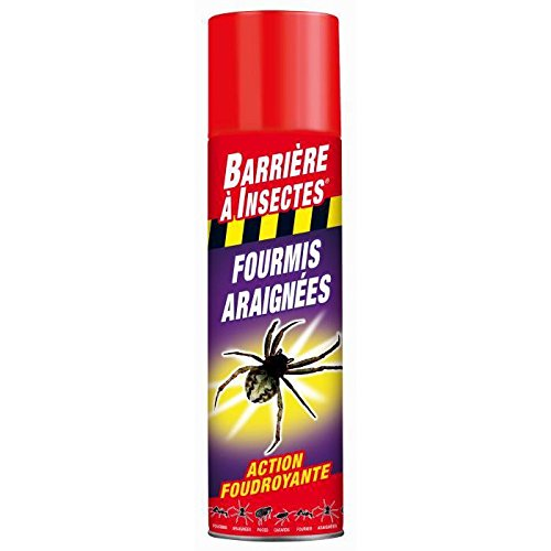 BARRIERE A INSECTES BARAMP400 Insectes Rampants 400 ml, Rouge, 6 x 6 x 25 cm