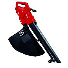 Einhell 3433300 GC-EL E 2500 W Electric Leaf Blower with 3 Functions and Variable Speed Control, 230 V, Red