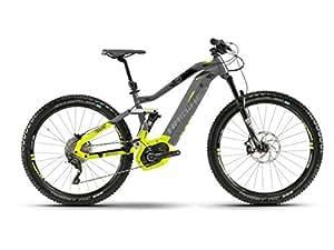 Haibike E-Bike SDURO FullNine 9.0 500Wh 11-G XT 18 HB BCXP Titanium/Lime/Black Large