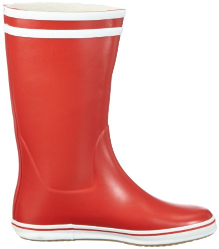 Aigle Damen Malouine BT Gummistiefel Rot (Rouge/Blanc)