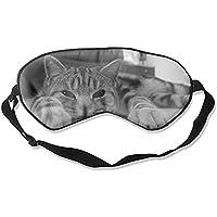 Schlafaugenmasken aus Seide, mit Tier-Motiv, verstellbarer Gurt preisvergleich bei billige-tabletten.eu