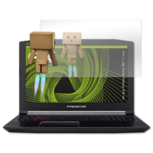 atFolix Bildschirmfolie für Acer Predator Helios 300 17 inch Spiegelfolie, Spiegeleffekt FX Schutzfolie