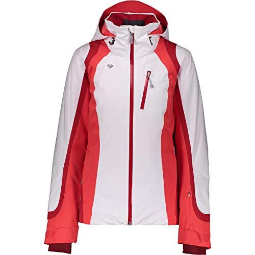 Obermeyer Women's Jette Jacket (White / 6 (Petite)) Obermeyer Womens Ski