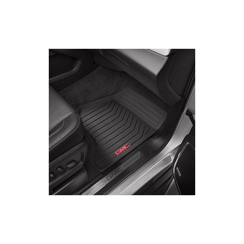 2015-gmc-yukon-black-gm-front-premium-all-weather-floor-mats-23452756-by-general-motors