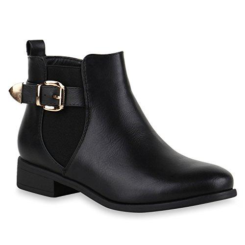 Stiefelparadies - Stivali Donna Nero