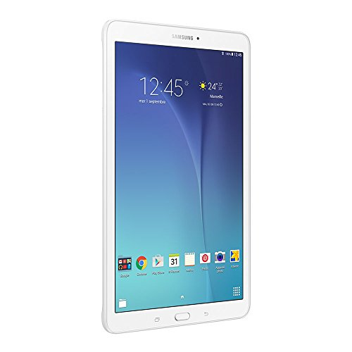 Samsung Galaxy Tab E Tablette tactile 9,6' Blanc (8 Go, Android, 1 port Micro  USB 2.0, Wi-Fi)