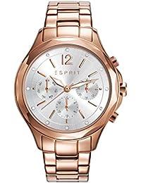 Esprit Damen-Armbanduhr TP10924 ROSE GOLD Analog Quarz Edelstahl beschichtet ES109242003