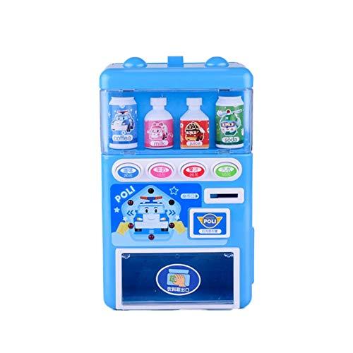 Elektronische Getränkeautomaten Automaten Spielzeug Puzzle Getränke Automaten Spielzeug Pretend Toy Set Kinder Bildung Lernspielzeug für Jungen und Mädchen -
