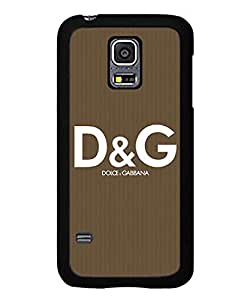 For Galaxy S5 Mini Coque Case D&G Luxury Marks Images Of Brand Logo Slim Dust proof Hard Plastic Coque Case Fits Samsung Galaxy S5 Mini