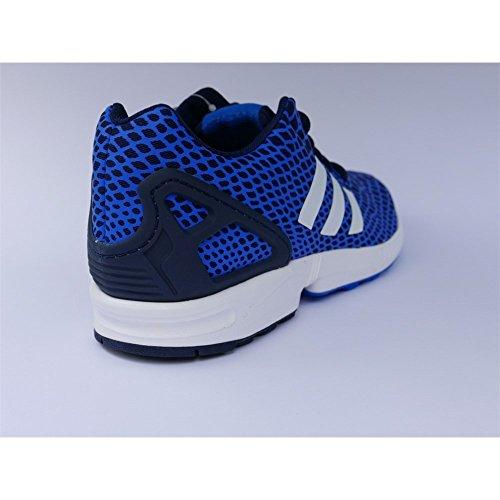 Chaussures De Sport Adidas Zx Flux Techfit, Homme Bleu
