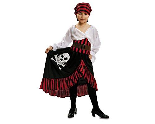 Imagen de my other me  disfraz de pirata bandana para niña, 5 6 años viving costumes 200584