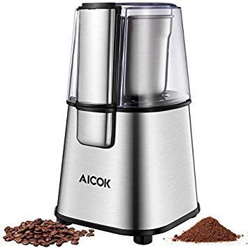 AICOK Electric Coffee Grinder 20...