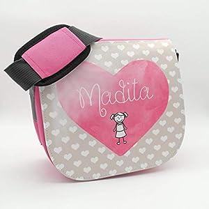 Kindergarten-Tasche für Mädchen mit dem Namen