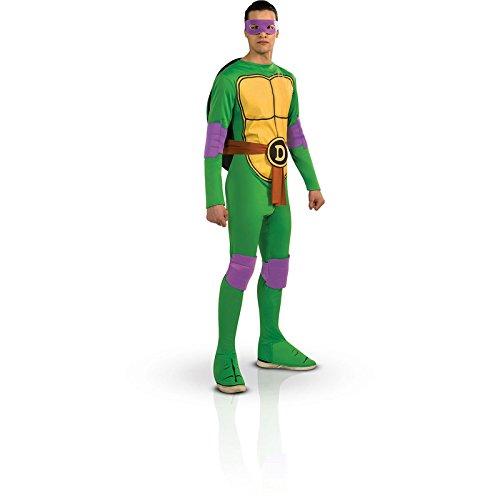 Donatello Kostüm für Erwachsene aus Ninja Turtles (Donatello Erwachsene Tmnt Kostüme Standard)