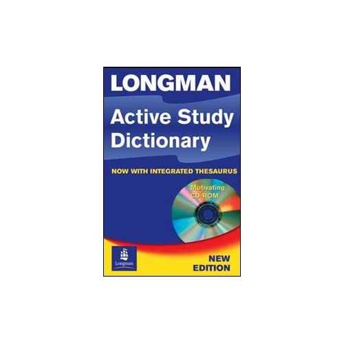 Longman Active Study Dictionary With Integrated Thesaurus. Con Cd-Rom