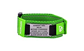 YOUR ROAD ID SPORTS BLACK (Medical Alert ID Bracelet WITH ENGRAVING)