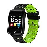 XIAYU Smart Fitness Tracker, activité Watch imperméable à l'eau, Smart Bracelet 1,44 Pouces fréquence Cardiaque de Surveillance de la Pression artérielle Sports Anti-Aquarelle Montre d'écran,Green