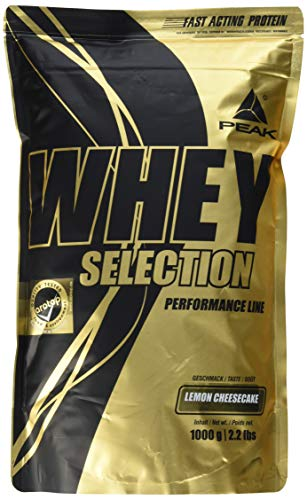 PEAK Whey Selection Lemon Cheesecake 1000g
