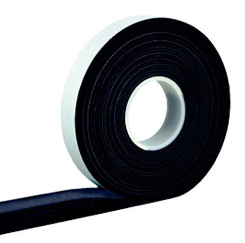 Kompriband 40/8 anthrazit 4,3 m Rolle, Bandbreite 40 mm, expandiert von 8 auf 40mm, Fugendichtband, Komprimierband