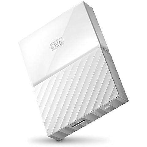 WD My Passport - Disco duro externo portátil de 3TB (2.5