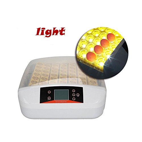 Preisvergleich Produktbild Inkubator Eier Automatische Intelligentes digitales Gerät Inkubationszeit ist Eclosion-Küken Brutmaschine