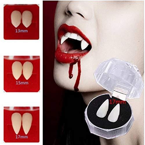 PiniceCore Halloween Cosplay Props Gebisse Zombie-Vampir-Zähne Geist Teufel Fangs falschen Zahn-Kostüm-Party Zubehör