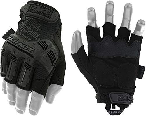 Mechanix Wear - M-Pact Fingerless Coyote Guantes Grande