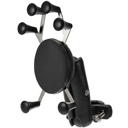 GOZAR 4.0-6.0 Pouces Téléphone GPS Porte Antivol pour Moto Scooter Vélo Guidon - 95Mm