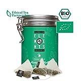 alveus® Marrakesh Nights Organics Elements: Grüner Tee, Pfefferminze, grüne Minze, Dose mit 15 Pyramidenbeutel à 3g