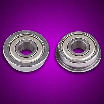 Flanschlager 10er Packung Set F688ZZ Doppelgeschirmte Flanschkugellager 8 /× 16 /× 5 mm//0,31 /× 0,63 /× 0,19 Zoll Lagers/ätze