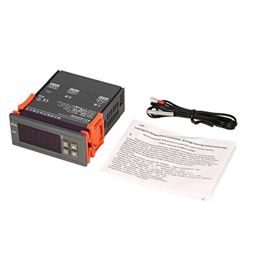 LouiseEvel215 MH1210W AC90-250V Digitaler Temperatur-Thermostatregler-Regler -50~110 ℃ NTC-Sensor zur Steuerung der Heizungskühlung -