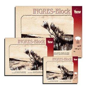 Ingres Block für Pastell Kohle & Kreide 13-farbig 100 g/m² 31x41cm 20 Blatt