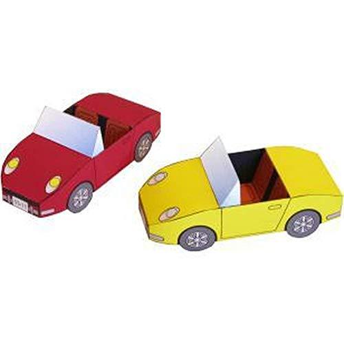 Origami Kzfs Cabrio Auto Modell Sportwagen 1:20 3d Papier Modell Raum Bibliothek Papercraft Karton (Papier Modell Autos)
