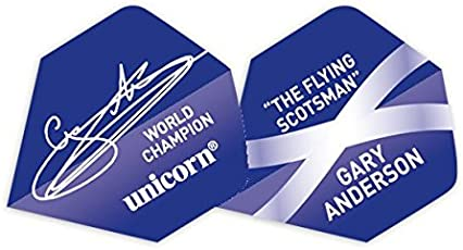 Unicorn Authentic. 100Gary Anderson Big Wing Flight Einheitsgröße