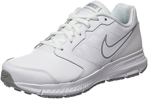 Nike Downshifter 6 LTR, Scarpe da Corsa Unisex-Bambini, Bianco (White/White-Wolf Grey), 36.5 EU