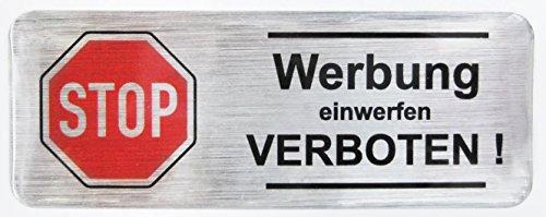 3d-briefkasten-aufkleber-alu-geburstet-402101-gross-werbung-einwerfen-verboten-80-x-30-mm-exzellente