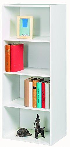 13 Casa Librería Simply Blanco 106 x 42,4 x 29,4 cm