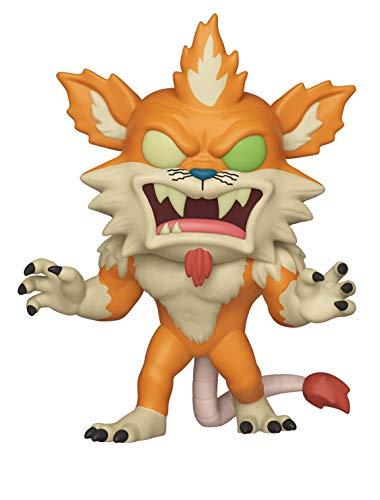 Funko- Pop Figura de Vinilo: Animación: Rick & Morty S6-Squanchy (Squanched out) Coleccionable, (40251)
