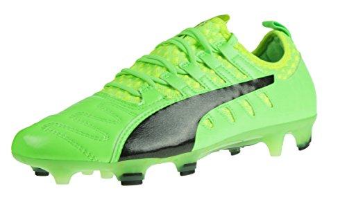 Puma Evopower Vigor 1 K Lth Fg, Chaussures de Football Homme Vert