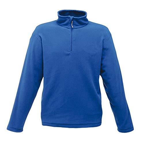 Micro Zip Neck - Farbe: Royal Blue - Größe: L Blue Micro Performance Fleece