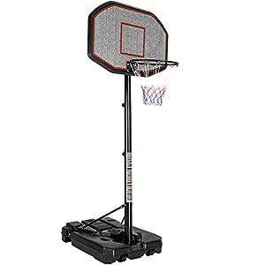 TecTake Basketballkorb Basketballanlage mit Ständer | Höhenverstellbar |...