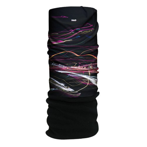 HAD Head Accessoires Original, Dancing Lights Fleece/Black Wf, One size, HA210-0228