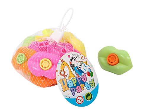 Alsino Lippen Pfeifen Lippendesign Spielzeug Party Mitgebsel Bunt -
