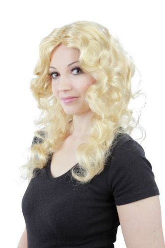 Foxxeo 10319 | blonde Locken Langhaar Model Damen ()